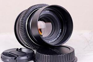 HELIOS 44M-4 2/58mm Lens Soviet SLR Pentax Zenit M42 + Adapter for Сanon EOS