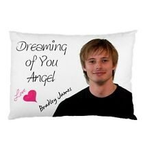 BRADLEY JAMES Personalized Dreaming of You Bed Pillow case cover slip