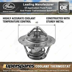 Gates Thermostat + Gaskets for Chrysler Neon PL PT Cruiser Grand Voyager GS