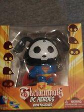 "DC Comics Toynami DC Heroes  SKELANIMALS SUPERMAN Vinyl Figure 4"""