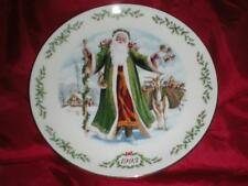 Lenox Annual International Victorian Santa Plate Collection Father Christmas1993
