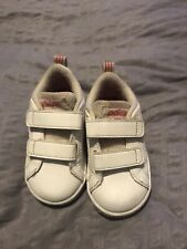 Baby Girls Adidas Velcro Trainers Infant Size 4