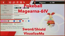 Pokemon Sword And Shield - Battle Ready 6IV POKEBALL Magearna - SWSH