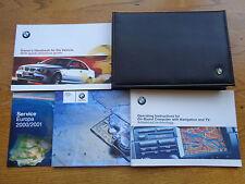 BMW serie 3 Coupé Propietarios Manual/manual y paquete de 99-03