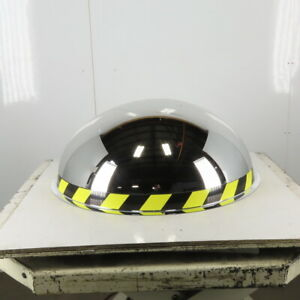 """36"""" Half Dome Safety Security Mirror 180° Panoramic"""