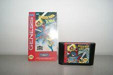 Sega Genesis Mega Drive Spider-man X-men Flying Edge with manual