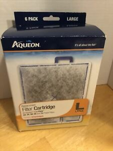 Aqueon Replacement Filter Cartridges, Size L - 2 used, rest are new - 4 in pack