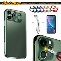 Case for Apple iPhone 11/11 Pro Max+Camera LENS Screen Protector Tempered Glass