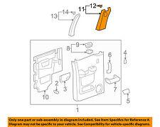 GM OEM Interior-Rear Door-Front Trim Left 20805500