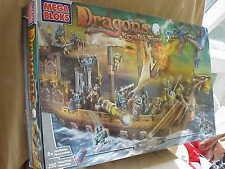 BOX ONLY for Mega Bloks  9895 Dragons  Krystal Wars Man-O-War Set