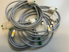10 x KISS GE Hellige Carefusion EKG Saugelektroden Leitung Leadwires IEC NEW