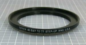 Tiffen 60 Bay to 77mm Aluminum Step-Up Ring