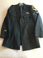Vintage Army Dress Uniform Jacket Green Vietnam Era or Before