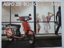 Honda motorcycle scooter brochure Aero 125 80 50 Uncirculated high quality '84