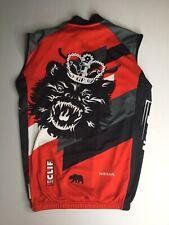 Men's Capo King Ridge Race Cycling Bike Apparel Vest Full Zipper Size Large EUC