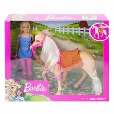Barbie Ensemble de Cheval et Poupée (FXH13)