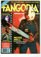 WoW! Fangoria #9 Motel Hell! The Howling! Terror Train! Conan! Thundarr! Rare!