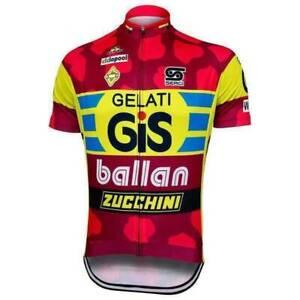 GiS Gelati Retro cycling Short Sleeve Jersey Cycling Jersey
