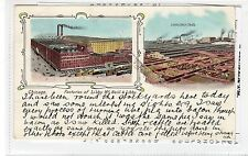 LIBBY McNEILL & LIBBY FACTORIES, CHICAGO: Illinois USA postcard (C28234)
