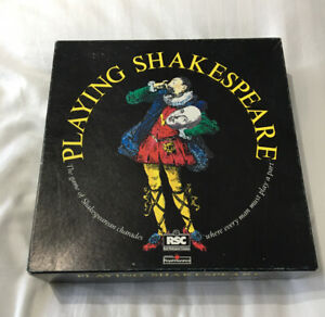 RETRO ORIGINAL PLAYING SHAKESPEARE Board Game 1990 COMPLETE NEW Xmas Gift Rare