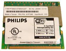 IBM Thinkpad 802.11a-b Wi-Fi Mini PCi Card 26P8506 Philips Dual-Band Wireless