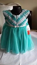 BRAND NEW WITH TAGS STUNNING JONA MICHELLE GIRL'S DESIGNER DRESS AGE 2