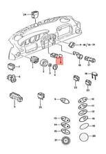Genuine PORSCHE Boxster Emergency Light Switch LHD Gloss black 98661312001A02