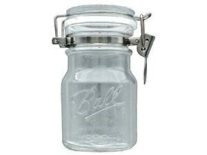 Jarden Ball 38 oz. Sure Seal Jar Single Wire Bale Glass Metal Storage Canister