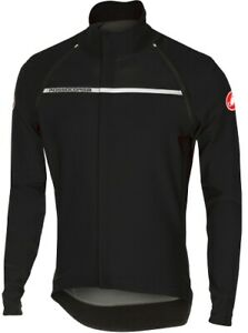 Castelli Gabba/Perfetto Convertible Men's Windstopper Cycling Jacket Black Large