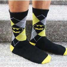 Unisex Super Hero Superman Batman Cosplay Knee High Sock Soccer Cosplay Socks