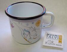 Moomin Enamel Mug Winter Day Limited Edition 2012 Muurla Finland
