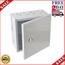Flat Metal HOTT DEALS 50 Pack Steel City Blank Square Electrical Box Cover 4 in