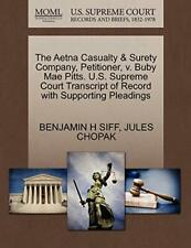 The Aetna Casualty & Surety Company, Petitioner. SIFF, H.#