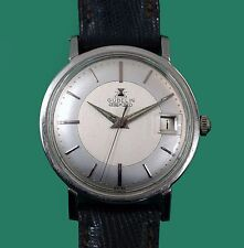 Vintage 60's Gübelin Tutone Dial Classic Men's Watch Automatic Adjusted Movement