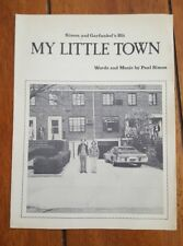 Simon and Garfunkel's Hit My Little Town Piano/Vocal Songbook/Sheet Music 1975