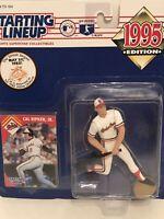 1995 Cal Ripken Jr starting lineup Baseball figure card toy Orioles Iron Man Ed