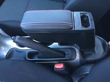 BRAND NEW 2011-2017 NISSAN JUKE RED STITCHED LEATHER ARMREST ASSEMBLY