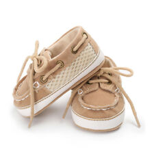 Baby Boy First Walker Stitching Straps Soft Bottom Non-slip Casual Canvas Shoes Khaki S