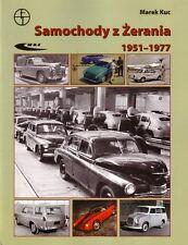 Book - FSO Warszawa Syrena Polski Fiat 125 Polish Cars 1951-77 Samochody Zerania