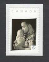 DAD WITH BABY BOY = picture postage personalized stamp MNH Canada 2013 [p3sn12]