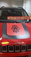 Adhesivo Para El Capo Estrella Vinilo Pegatina Coche Jeep Renegade 4x4