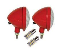 Head light Pair IH Farmall Tractor with 12 volt LED bulbs