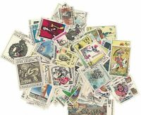 Collection of 100 Stamps from Czechoslovakia 80`s CTO all different ref.1116