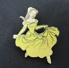 Disney Trading Pin Belle Beauty Beast Yellow Dress Full Body 2004