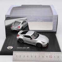 1:43 Kyosho NISSAN FAIRLADY Z NISMO Z34 Diecast Models Toys Car Gift Silver