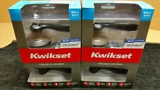 Lot of 2 New Kwikset Tustin Privacy Bed/Bath Door Lever Lock Bronze 97300-818