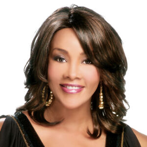 AUTUMN-V - VIVICA A FOX SYNTHETIC PURE STRETCH CAP FULL WIG MEDIUM WAVY