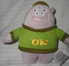 "NEW Disney MONSTERS ok UNIVERSITY 7.5"" SQUISHY Bean Bag plush toy NWT"