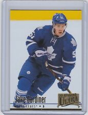 2012-13 UPPER DECK FLEER RETRO JAKE GARDINER UD 1994-95 ULTRA MAPLE LEAFS