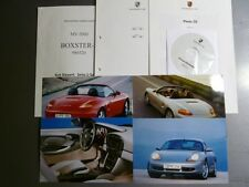 2000 Porsche Boxster S Roadster Press Kit Pressemaappe RARE!! Awesome L@@K